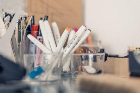 Kreatives Arbeiten im Büro