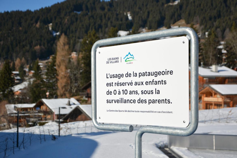 Schilder im Outdoorbereich