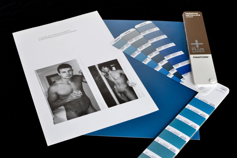 Buchgestaltung für Aktfotografie