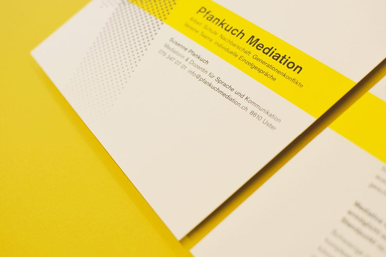Gedruckter Flyer