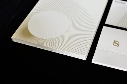 SunSet Postkarten vor schwarzem Hintergrund